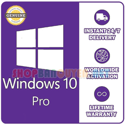 Windows 10 Pro professional Genuine License lifetime activation Key