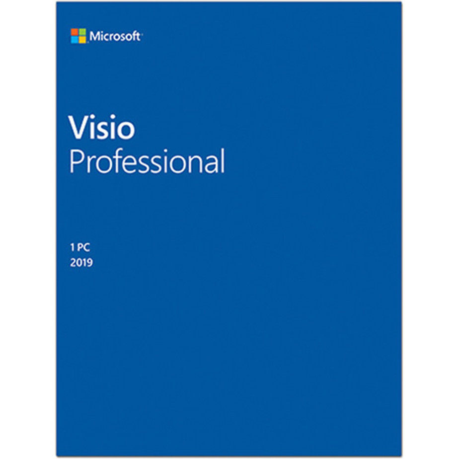 Key Microsoft Visio 2019 Professional 32/64 BIT bản quyền vĩnh viễn