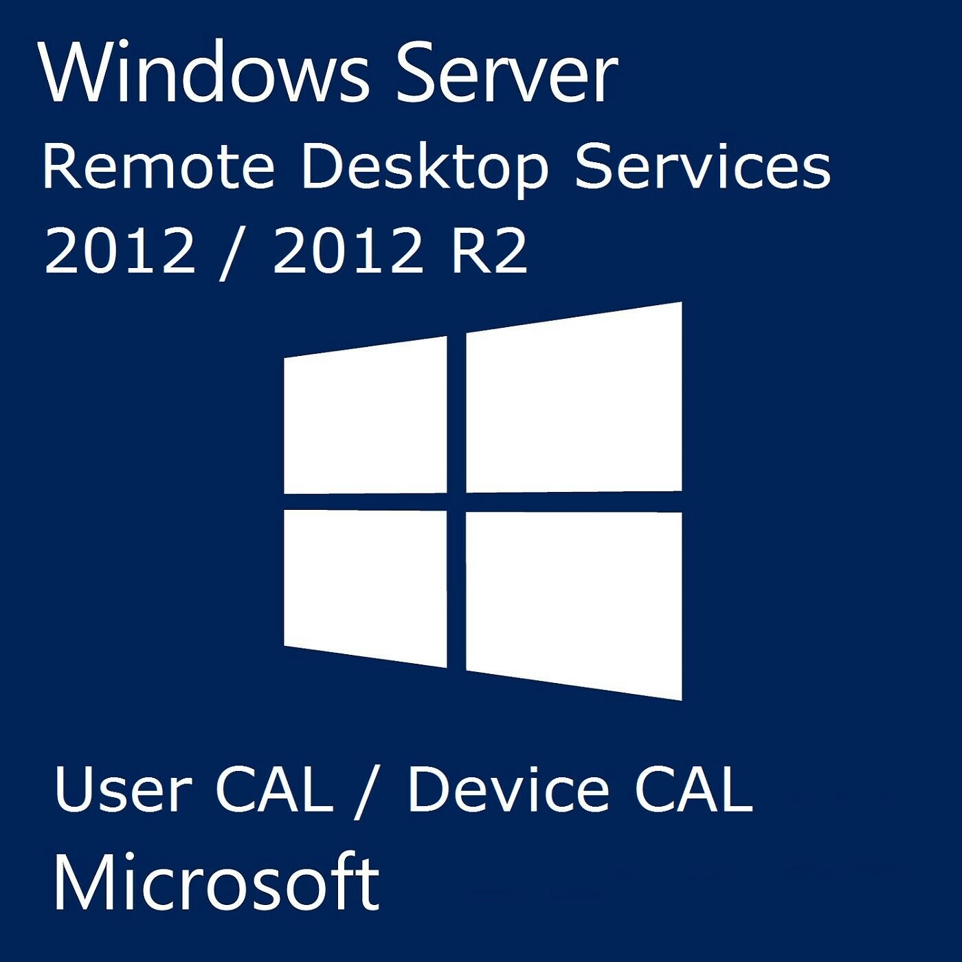 License Key Windows Server 2012 R2 Remote Desktop Services RDS 50 DEVICE CAL