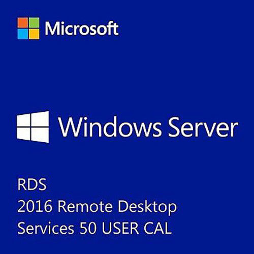 License Key Windows Server 2016 Remote Desktop Services RDS 50 USER CAL