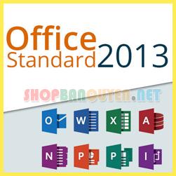 Key Microsoft Office 2013 Standard 32/64 BIT bản quyền vĩnh viễn