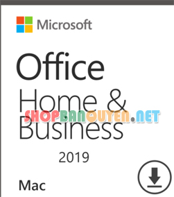 Key Office 2019 for Mac - Home and Business bản quyền