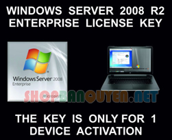 Windows Server 2008 Enterprise Genuine License lifetime activation Key