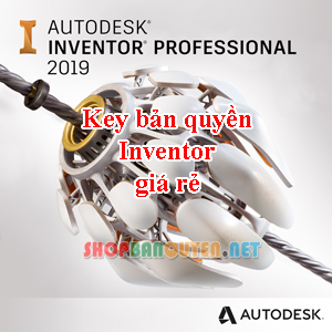 Key License Autodesk Inventor Professional 2017/2018/2019/2020 Edu bản quyền 3 năm cho Windows/Macbook