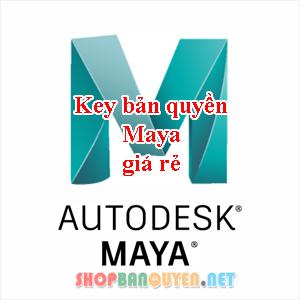 Key License Autodesk MAYA 2018/2019/2020 Edu bản quyền 1 năm cho Windows/Macbook