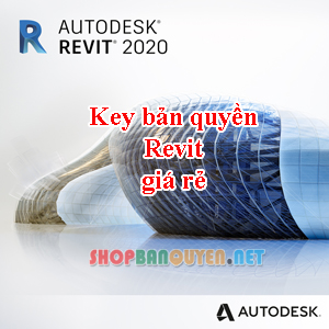 Key License Autodesk Revit 2018/2019/2020/2021 Edu bản quyền 1 năm cho Windows/Macbook