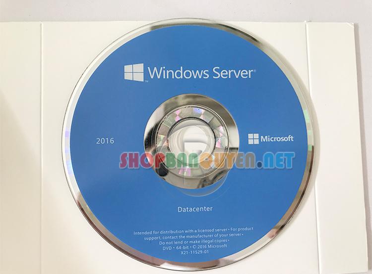 Windows Svr Dat 2016 X64 English 1pk DSP OEI DVD