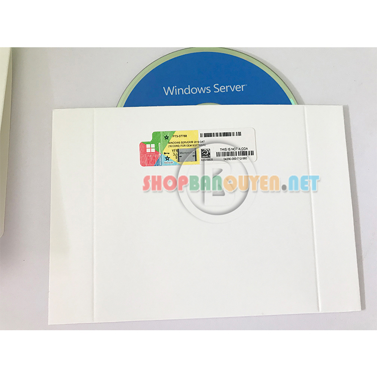Windows Svr Dat 2019 X64 English 1pk DSP OEI DVD 16 Core