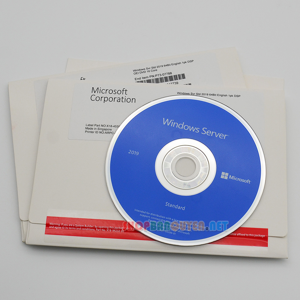 Windows-Sever-2019-Standard-64-bits-DVD-full-box