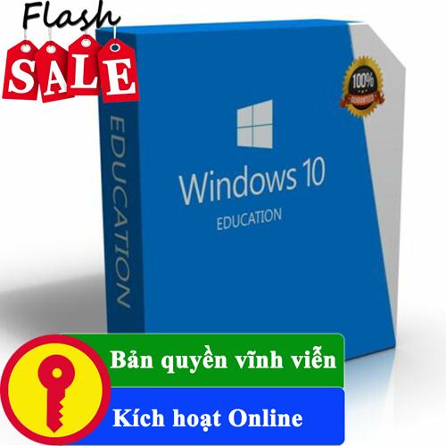 Key Windows 10 Education 32/64 BIT bản quyền vĩnh viễn