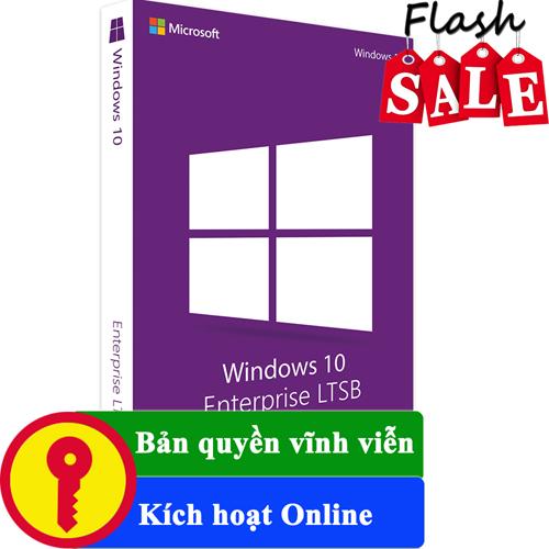 Key Windows 10 Enterprise LTSB 2016 32/64 BIT bản quyền vĩnh viễn