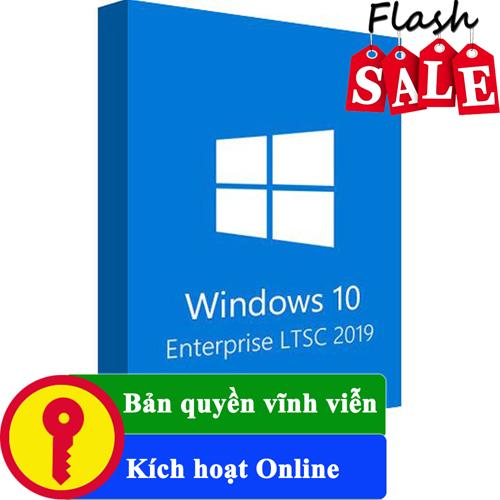 Key Windows 10 Enterprise LTSC 2019 32/64 BIT bản quyền vĩnh viễn