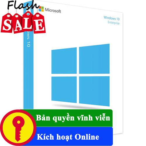 Key Windows 10 Enterprise 32/64 BIT bản quyền vĩnh viễn
