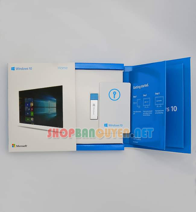 USB Windows 10 Home bản quyền full box