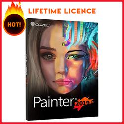 Key License Corel Painter 2019 bản quyền vĩnh viễn