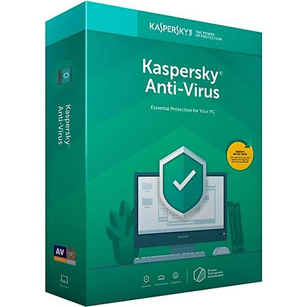 Kaspersky Anti Virus 2021 Key 5 PC/MAC 1Year license