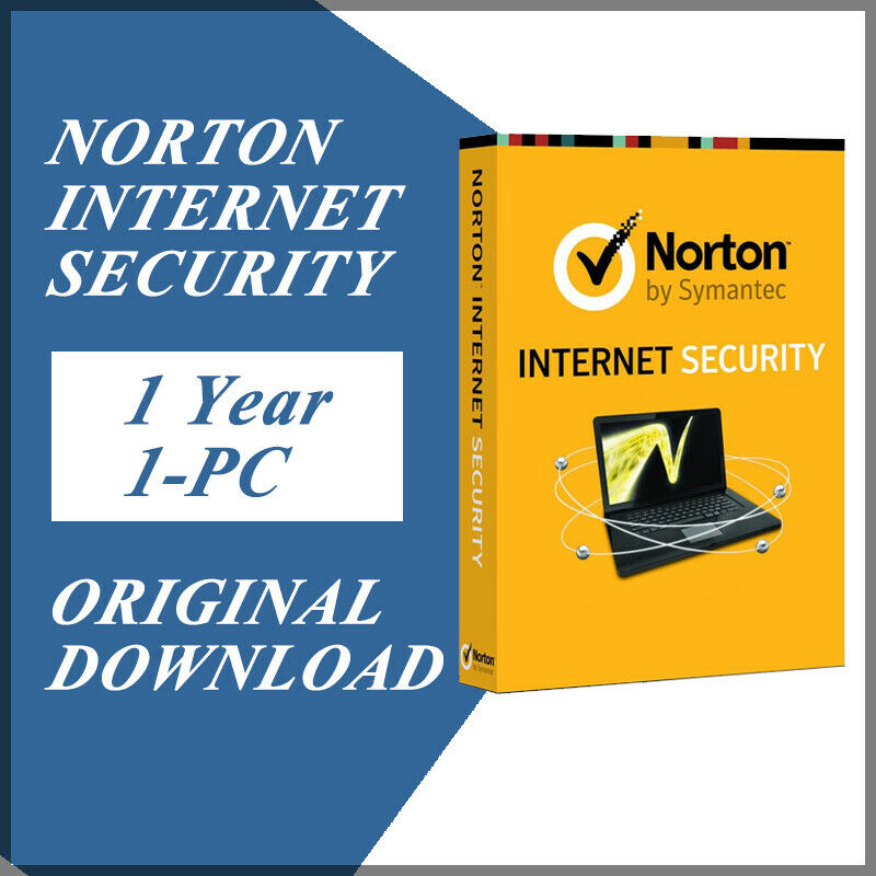 Symantec Norton Internet Security 2021 1 year 1 PC
