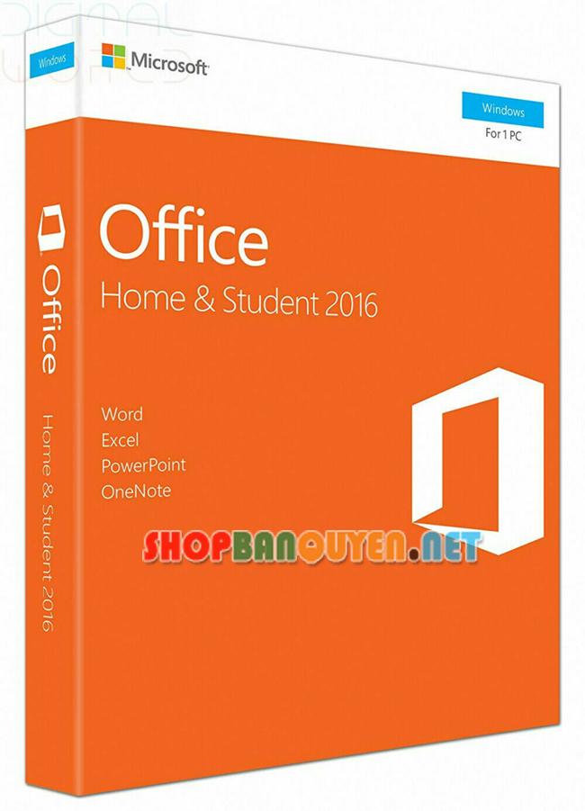 Key Office Home And Student 2016 bản quyền vĩnh viễn