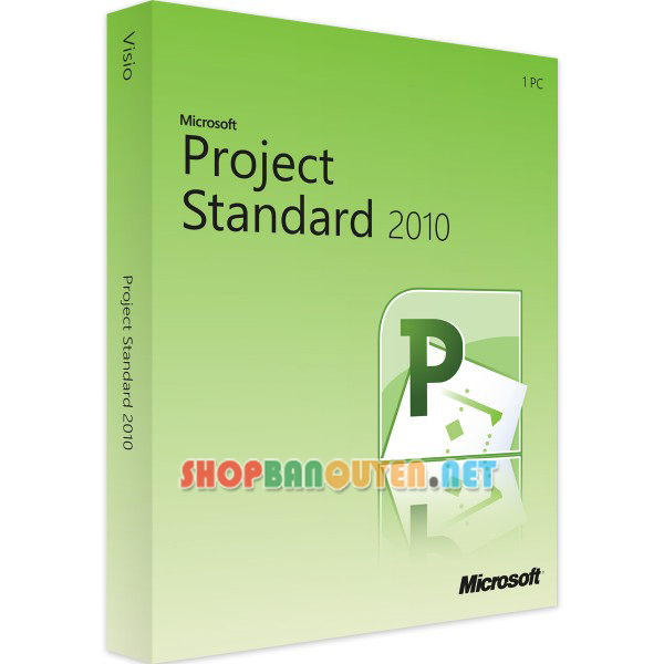 Key license Microsoft Project 2010 Standard bản quyền vĩnh viễn