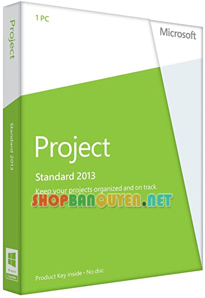 Key license Microsoft Project 2013 Standard bản quyền vĩnh viễn