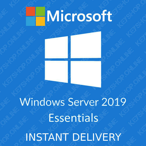 Key Windows Server 2019 Essentials 64 BIT bản quyền vĩnh viễn